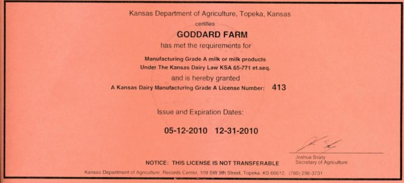 Kansas Dairy Manufacturing Grade-A License-1.jpg